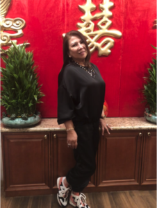 The lovely celebrant who treated her family and staff to New Asian Barbecue in Las Vegas, Nevada